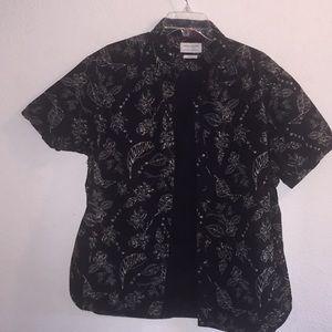 Denim & Flower Slim Fit XL Button Up Short Sleeve